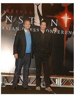 Asian Press Conference for Constantine: Director Francis Lawrence and Keanu Reeves