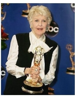 Elaine Stritch backstage at the 2004 Emmy Awards
