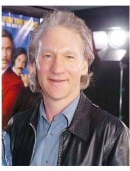 "Bill Maher at the ""Anchorman"" Premiere"
