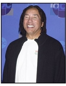 "Smokey Robinson backstage at the ABC Television Network Special,  ""Motown 45"""