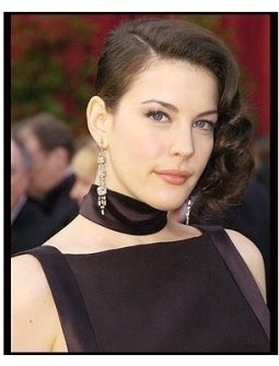 6th Annual Academy Awards-Liv Tyler - Diamonds-ONE TIME USE ONLY