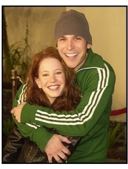 """Amy Davidson with Billy Brown at """"The Perfect Score"""" Premiere"""