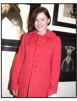 Kathleen Robertson at Tanqueray No. TEN's preview of the Herb Ritts memorial collection