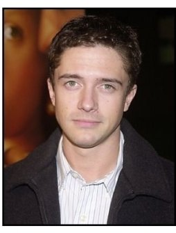"Topher Grace at the ""Girl with a Pearl Earring"" premiere"