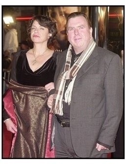 """Timothy Spall with wife at """"The Last Samurai"""" premiere"""