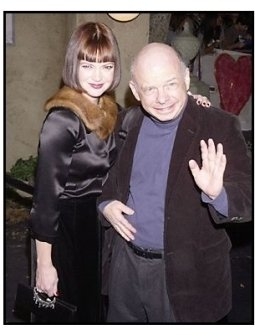 "Dina Waters and Wallace Shawn at ""The Haunted Mansion"" Premiere"