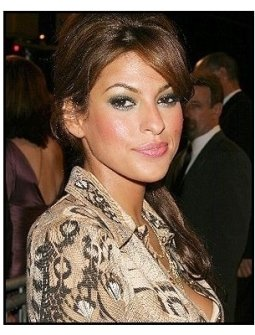 """ONE TIME USE ONLY: Eva Mendes at the """"Out of Time"""" Premiere"""