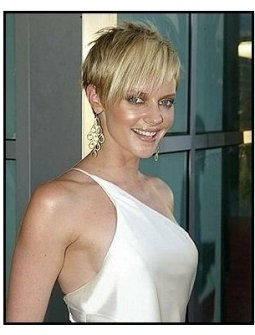 "ONE TIME USE ONLY:  Marley Shelton at the ""Uptown Girls"" premiere"