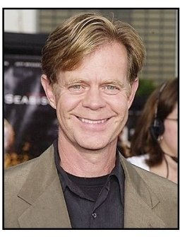 "William H. Macy at the ""Seabiscuit"" premiere"