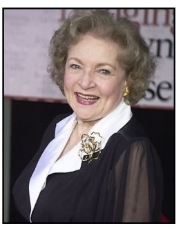 """Betty White at the """"Bringing Down the House"""" Premiere"""