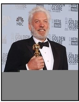 2003 Golden Globe Awards  Backstage: Donald Sutherland