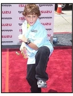 Spy Kids 2 The Island of Lost Dreams Premiere: Daryl Sabara