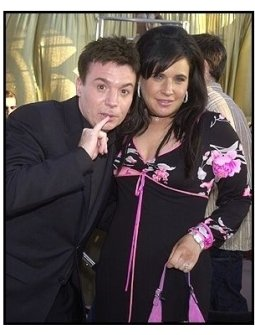 Austin Powers in Goldmember Premiere: Mike Myers with wife