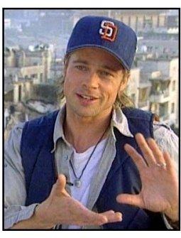 """Spy Game"" Interview Video Still: Brad Pitt"