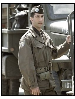David Schwimmer in Band of Brothers