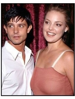 Jason Behr and Katherine Heigl at the 2000 Pre-Emmy Bash