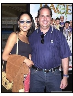 Jon Lovitz and date at the Rat Race premiere