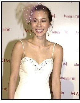 China Chow at the Maxim Hot 100 Party