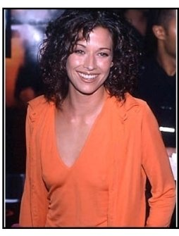 Brooke Langton at The Cell premiere