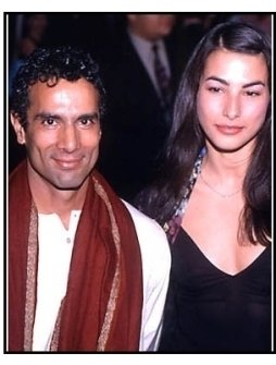 Tarsem Singh and date at The Cell premiere