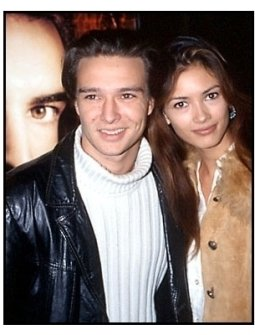 Justin Whalin and date at the Lost Souls premiere