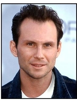 Christian Slater at the Super Saturday L.A.