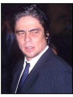 Benicio Del Toro at the Way of the Gun premiere