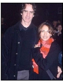 Jay Roach and Susanna Hoffs at the All Access premiere