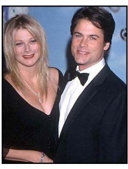 Rob Lowe and wife Sheryl at the 2000 Carousel of Hope
