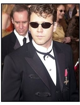 Russell Crowe at the 2001 Academy Awards