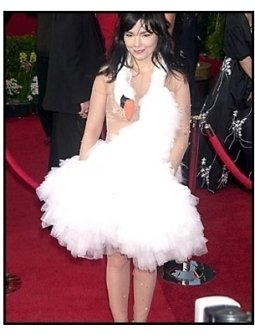 Bjork at the 2001 Academy Awards