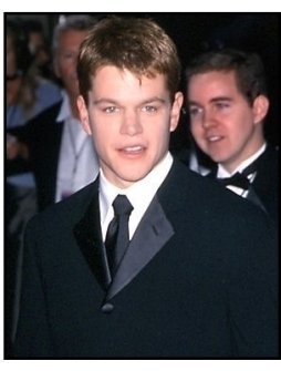 Matt Damon at the 57th Golden Globe Awards