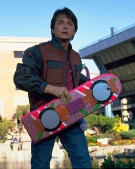 Michael J. Fox in 'Back to the Future II'