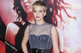 Jennifer Lawrence Catching Fire LA Premiere