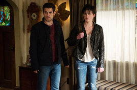 David Giuntoli and Jacqueline Toboni, Grimm