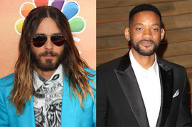 Jared Leto and Will Smith
