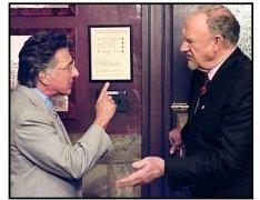 """Runaway Jury"" Movie Still: Gene Hackman and Dustin Hoffman"
