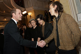 One Direction, Prince William