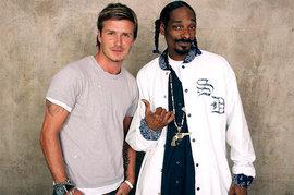 Snoop Dogg, David Beckham