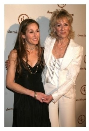 Dominique Cohen and Judith Light
