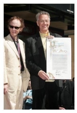Robby Krieger and Ray Manzarek