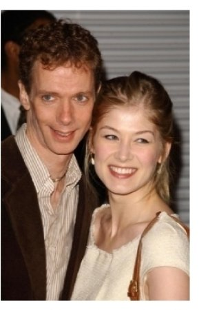 Doug Jones and Rosamund Pike