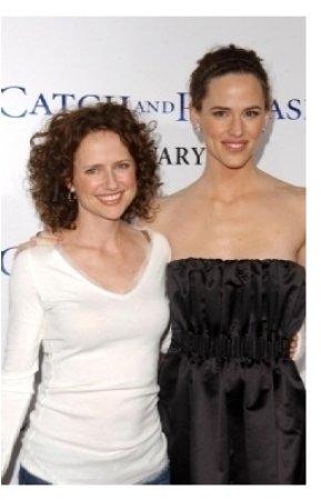 Jean Louisa Kelly and Jennifer Garner