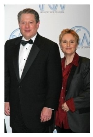 Al Gore and Melissa Etheridge