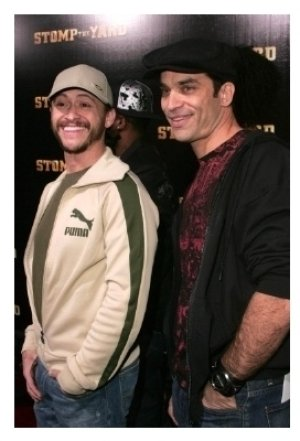 Clifton Collins Jr. and Johnathon Schaech