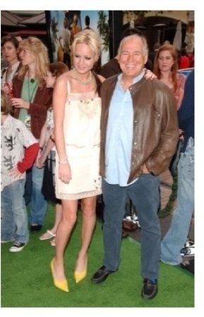 Brie Larson and Jimmy Buffett
