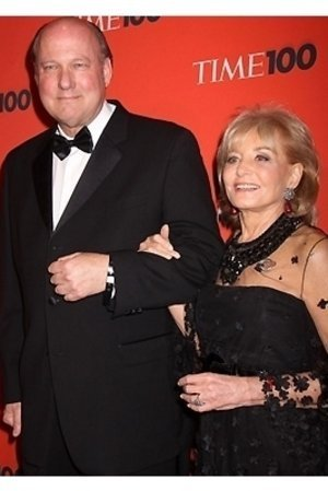 Bill Geddie and Barbara Walters