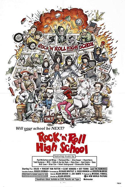 'Rock 'N Roll High School' [1979]