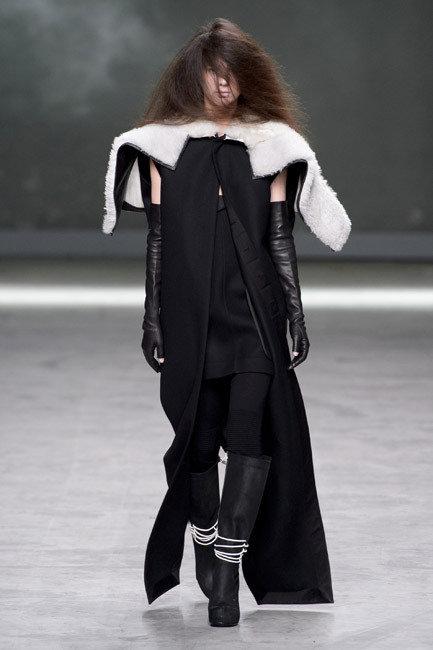 Paris Fashion Week - Autumn/Winter 2013 - Rick Owens Runway