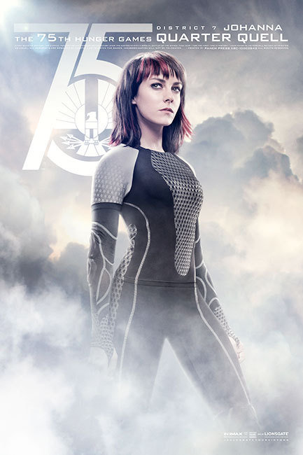 The Hunger Games: Catching Fire, Johanna